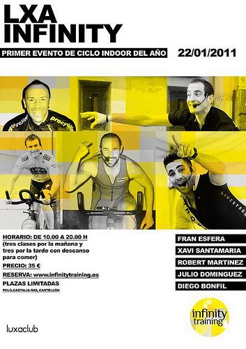 Evento ciclo indoor en Castellón