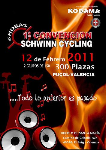 1ª CONVENCIÓN SCHWINN-CYCLING