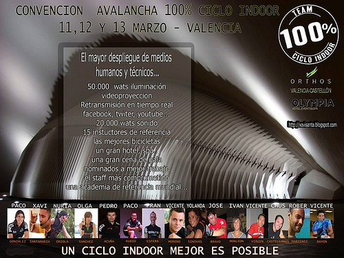 Avalancha 100% ciclo indoor