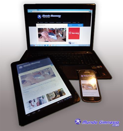 Nueva pagina web en Mundo Gimnasio.